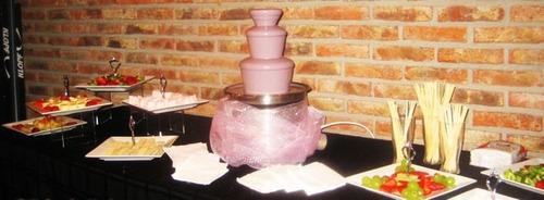 servicio / alquiler fuente de chocolate mesa de dulces