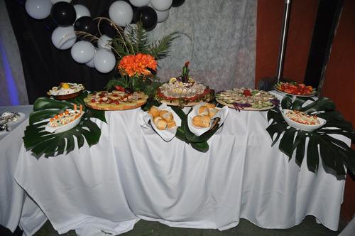 servicio catering integral fiestas eventos