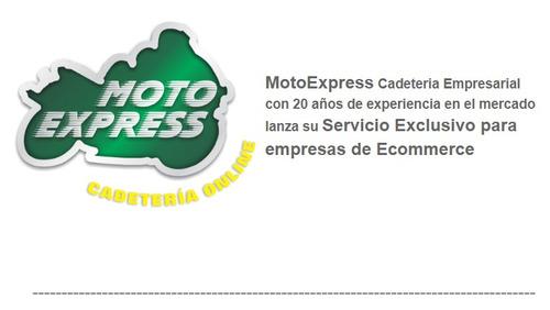 servicio de cadeteria moto express entregamos tu ecommerce