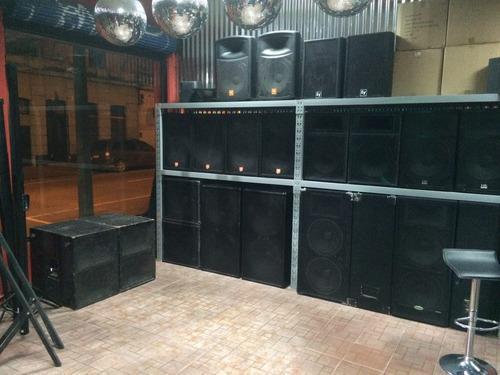 servicio de discoteca, alquiler de audio e iluminacion