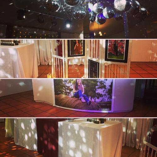 servicio de discoteca, fotografía y filmación - fiestas