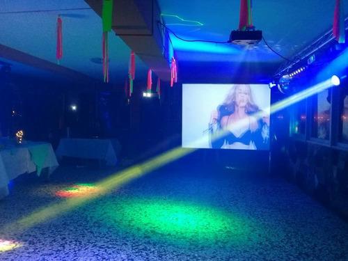 servicio de discoteca, gastronomía y barra de tragos