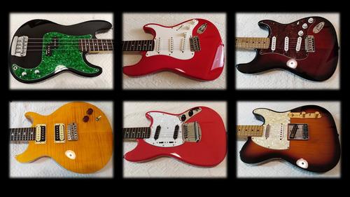 servicio de lutheria y mantenimiento de guitarras y bajos