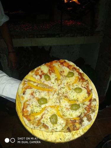 servicio de pizzas a la parrilla mozos asadores cumpleaños