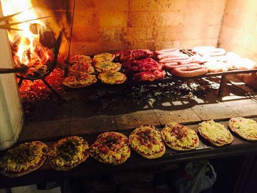 servicio de pizzas y catering - a todo parrilla