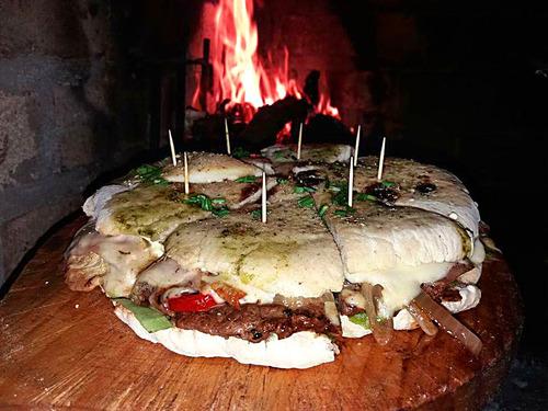 servicio fiestas pizza