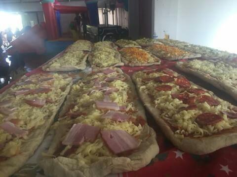 servicio pizzas eventos