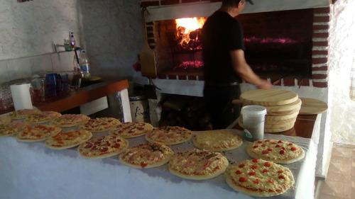 servicio pizzetas y chivitos