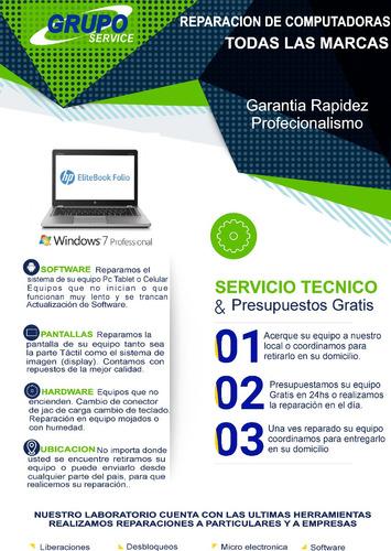 servicio tecnico - computadoras, reparacion de pc, y laptop