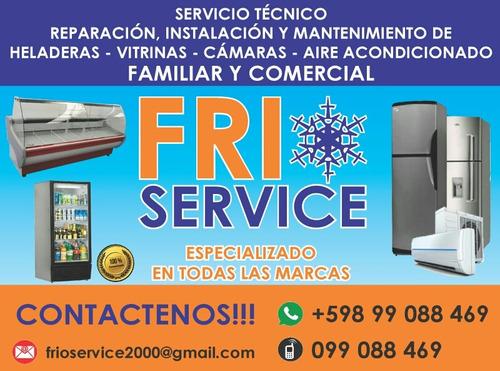 servicio técnico en refrigeración familiar y comercial