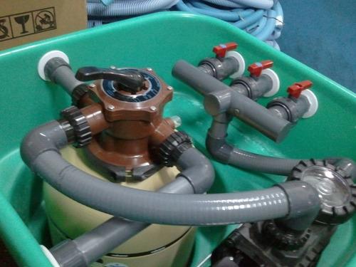 servicio técnico - limpieza filtro piscina - cambio de arena