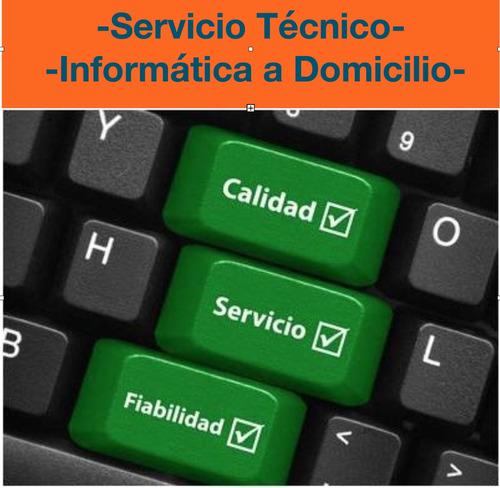 servicio técnico reparación de notebooks y pc  domicilio