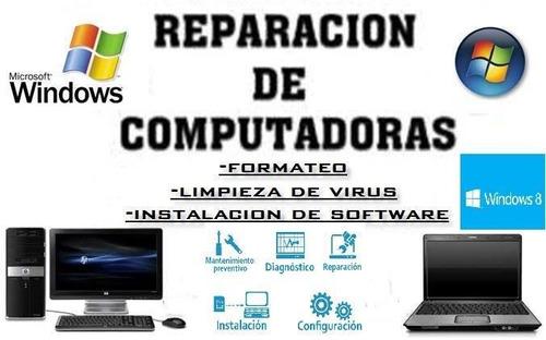 servicio técnico. reparación de pc (escritorio,notebook)