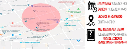 servicios de reparacion de celulares iphone lg nokia xioami