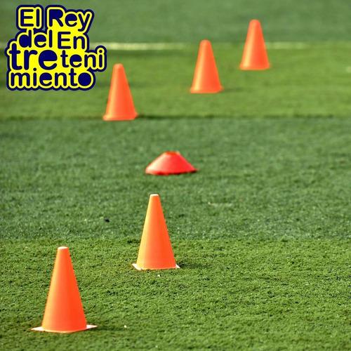 set 20 conos pvc tortuga entrenamiento deporte fútbol el rey
