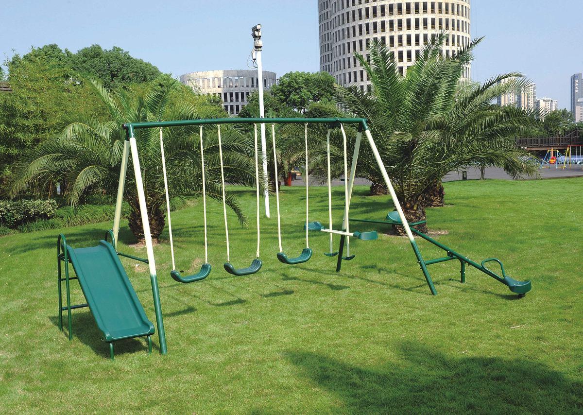 Set 6 En 1 De Juegos Infantiles Para Jardin Elbunkker Env U S