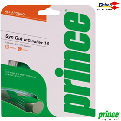set cuerdas tenis prince syntetic gut duraflex 12mts