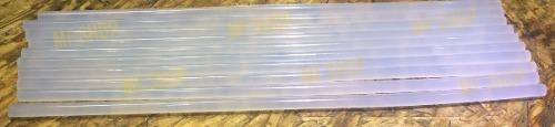 set de 10 barras de silicona fina 30 cm para pistola electr