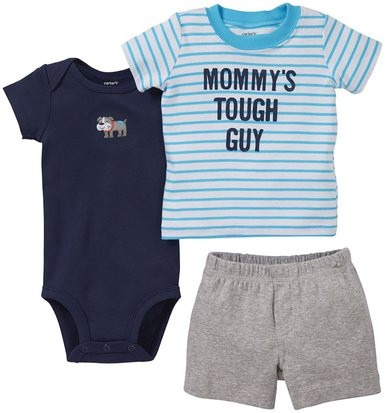 set de 3 piezas  carter's mommy's de bebe 3 y 6 meses