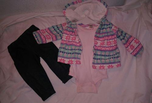 set de 3 piezas carters original y vestidos con toreritas