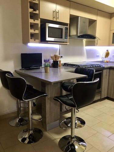set de cuatro(4) banco ares barra cocina giratorio ajustable