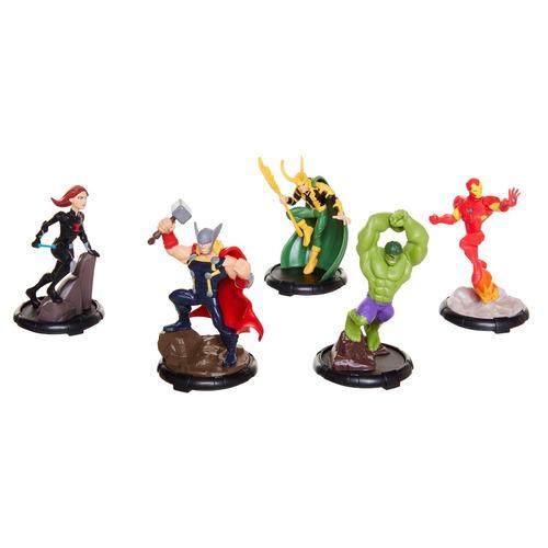 set de figuras avengers