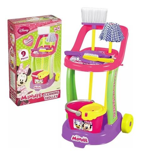 set de limpieza juguete minnie completo original disney hts