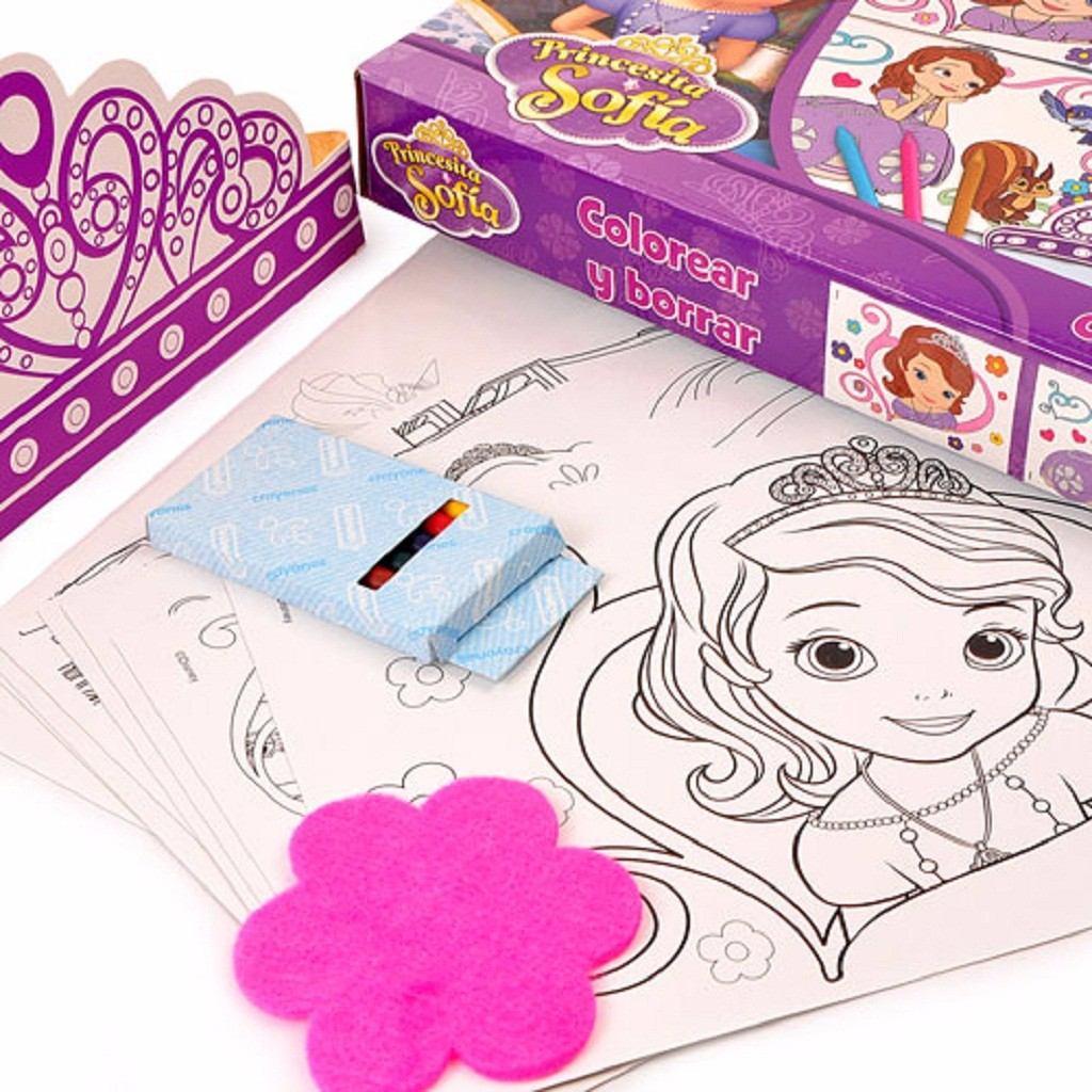 Set Para Dibujar Y Colorear Princesita Sofía - $ 175,00 en Mercado Libre