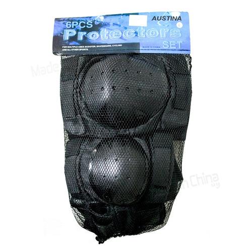 set proteccion roller 2 rodilleras + 2 coderas+ 2 muñequeras