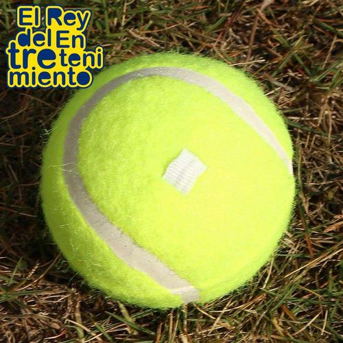 set raqueta tennis + estuche + pelota + entrenador - el rey