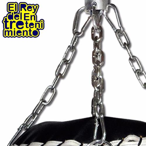 set rotor + cadenas + mosquetones p/ bolsa de boxeo - el rey
