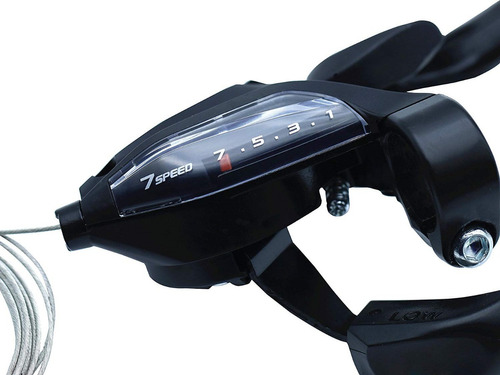 shifter integrado shimano 3x7s st-ef500 bicicleta
