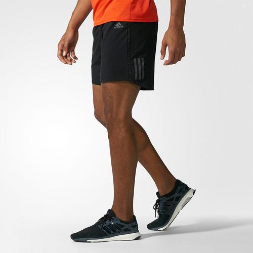 short adidas rs entrenamiento fútbol running de hombre