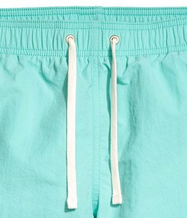 short h&m original verano de baño talle l lindos colores