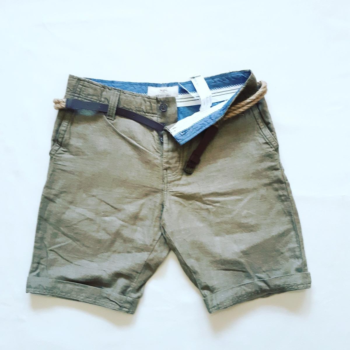 c01944556dc3 Short Tela Bershka+cinto De Regalo !! - $ 450,00