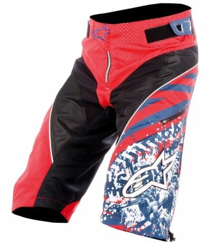 shorts con badana alpinestars gravity