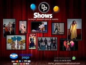 show de transformismo , humor , animación transformista drag