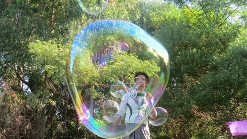 show infantil / cumpleaños / burbujas gigantes /  magia