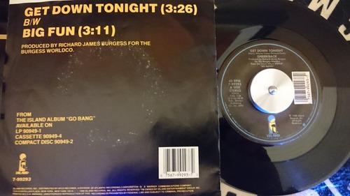 shriekback - get down tonight (7 pulgadas)