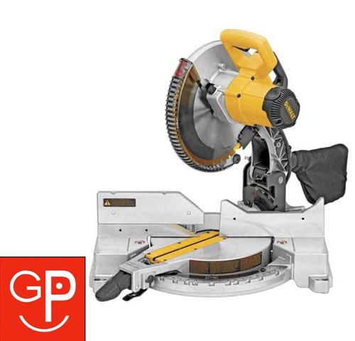 sierra ingletadora dewalt dw713 1600w 13,6kg 5000rpm g p