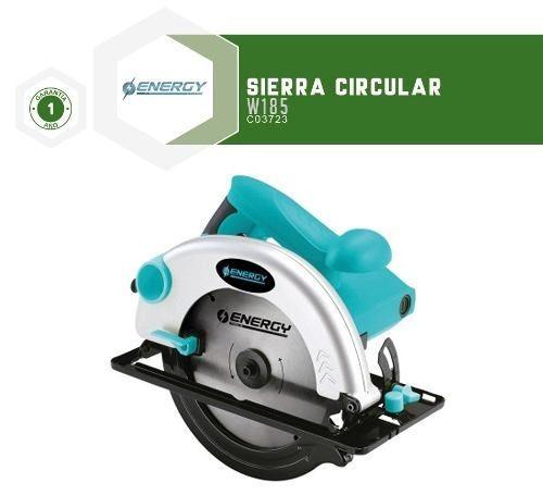 sierras circulares energy w185 7-1/4 1200w - fama
