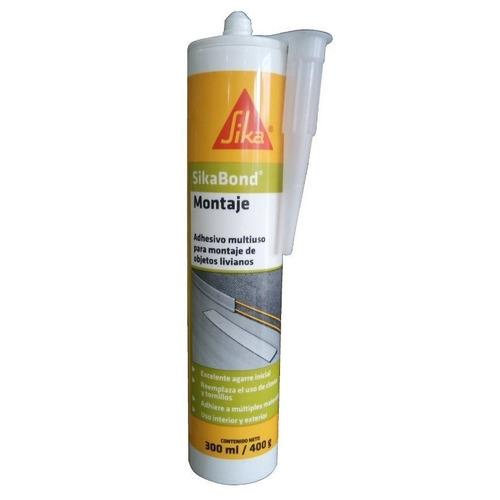 silicona adhesivo montaje bond (ex max tack) sika