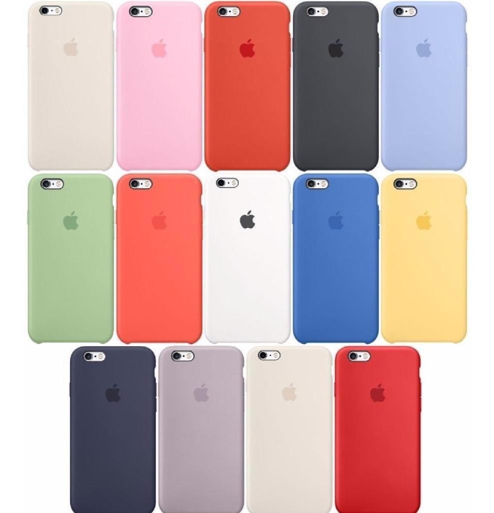 32a0ff866aa Silicone Case Original iPhone 6 7 8 X Plus Apple Oferta Ya - $ 990 ...
