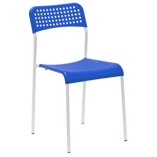 silla apilable empoli super resistente hogar y oficina loi