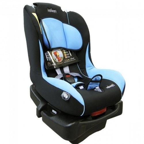 silla auto bebe infanti  savile celeste 9/36kg regalo pcm