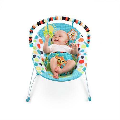 silla bouncer kaleidoscope bright starts con vibración bebés