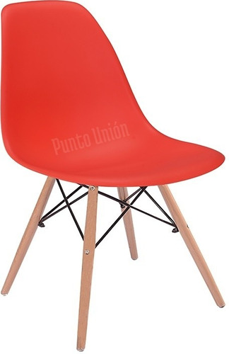 silla de comedor de diseño moderno eames punion
