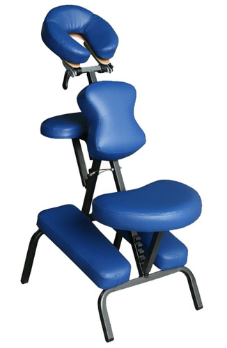 silla de masaje plegable portátil liviana 8 kg - milenio