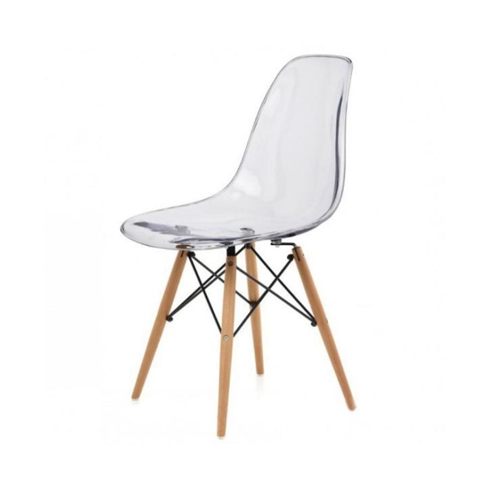 Silla Eames Transparente Diseño Comedor Calidad Premium - $ 1.535,00 ...