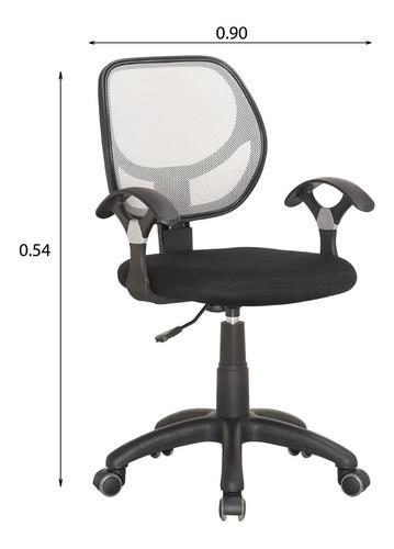silla escritorio oficina con posabrazos computadora 611113